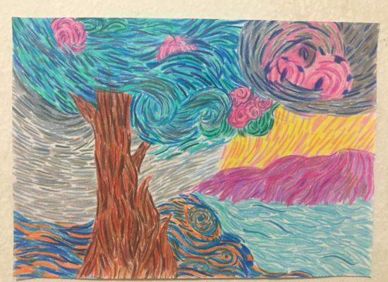 Melani Pullugando, Estudio Van Gogh