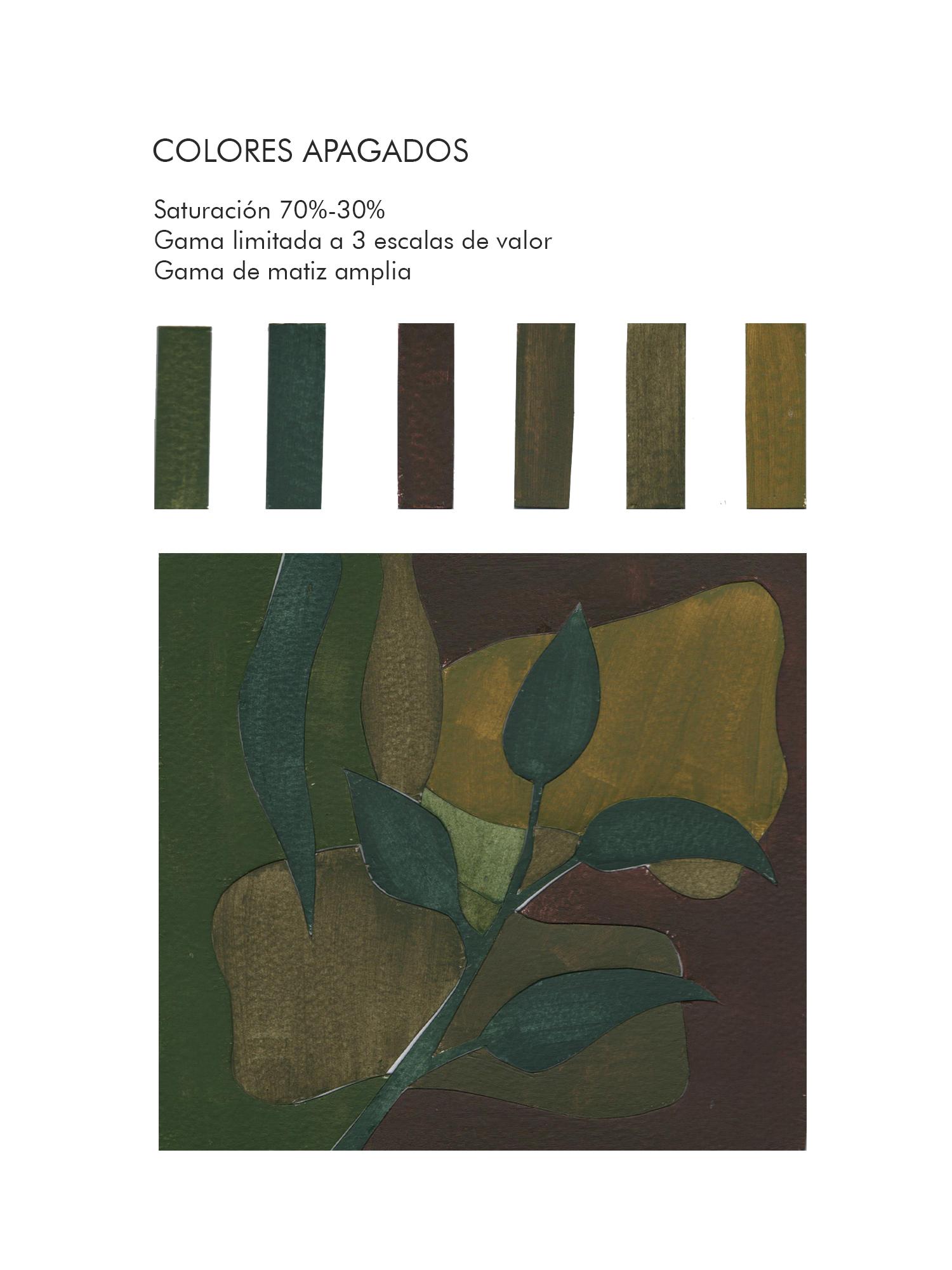 Andrea Santillán, Colores apagados, valor limitado