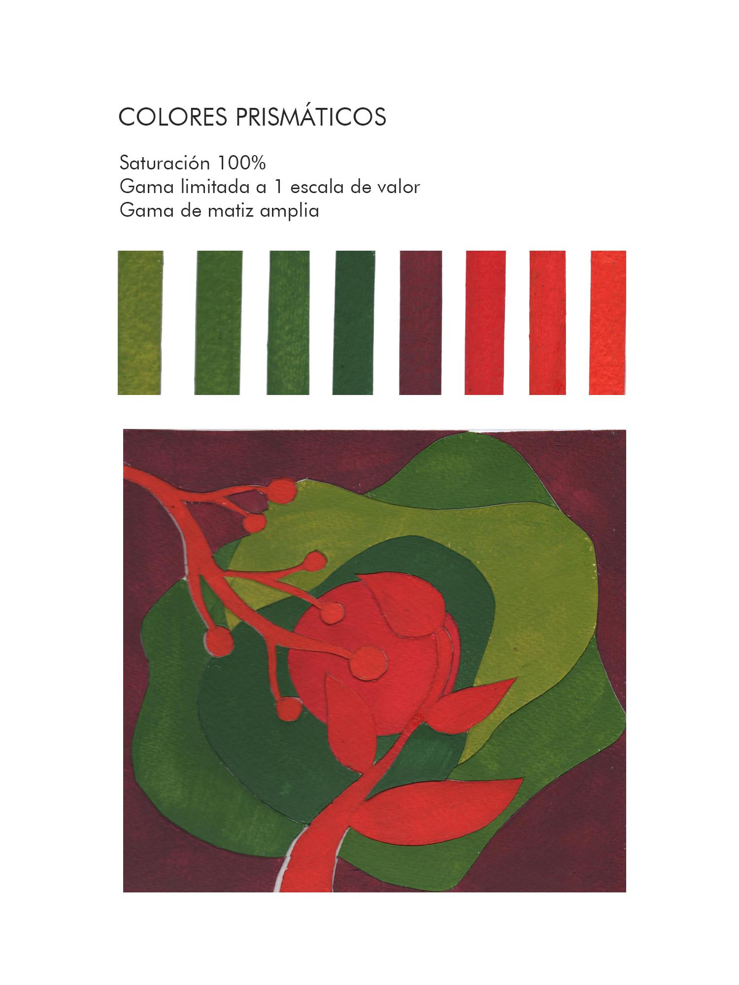 Andrea Santillán, Colores prismáticos